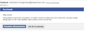 4 Jak wyłączyć konto na Facebooku