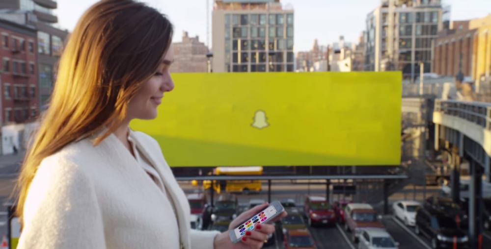 Aktualizacja Snapchata