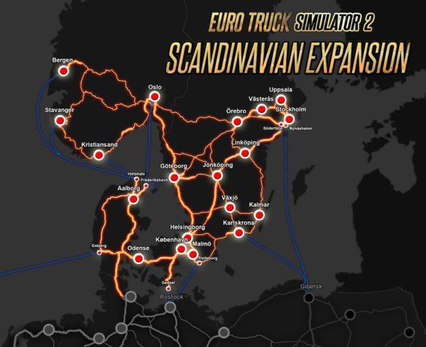 ETS 2 Scandinavia