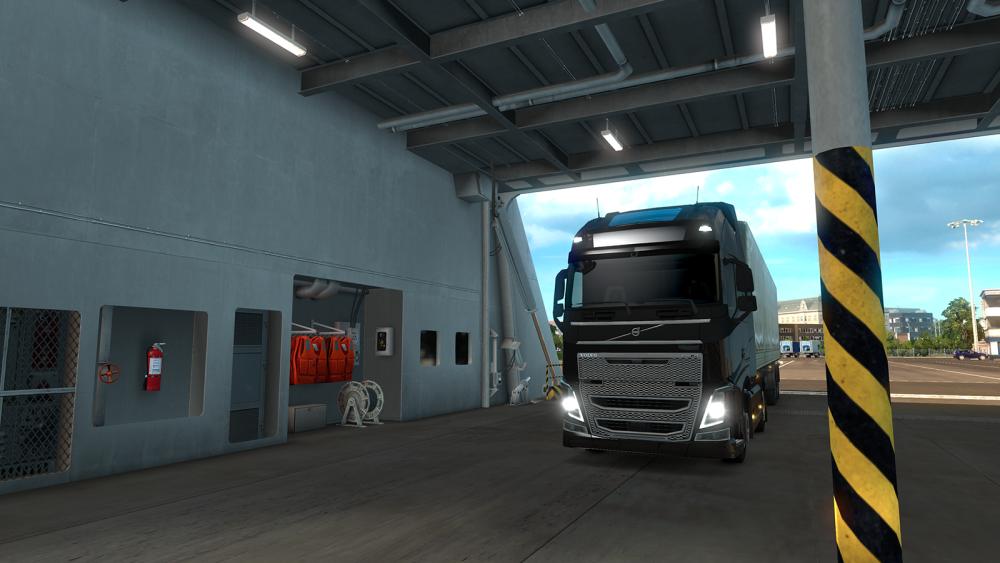 ETS 2 promy dodatek Scandinavia DLC