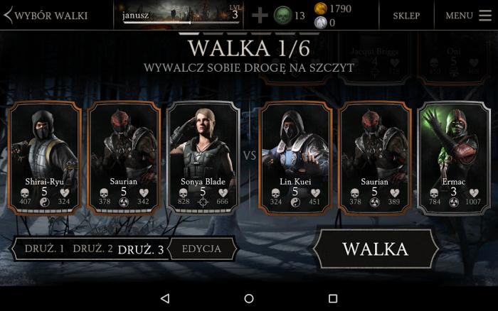 Mortal Kombat X pojedynek