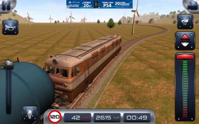 Train Driver 15 trasa Portugalia