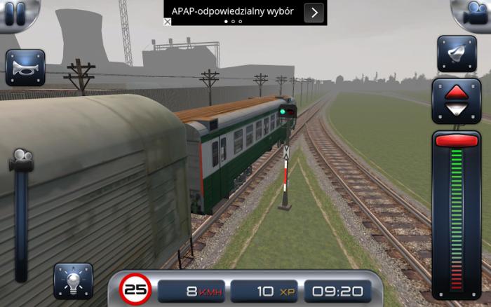 Train Driver 15 trasa w Anglii