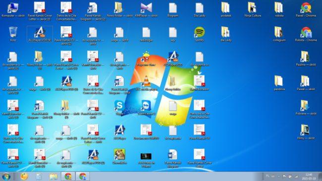 Windows 7 pulpit