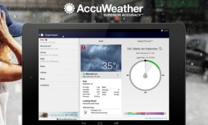 Accuweather pogoda Android