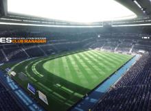 PES CLUB MANAGER - ekran ładowania się meczu