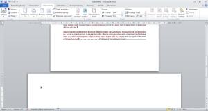 Jak wstawić poziomą stronę w wordzie
