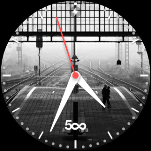 500px smartwatch face Android Wear