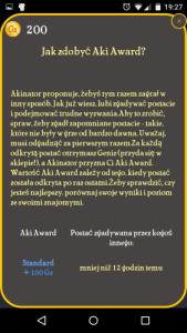 Akinator punkty