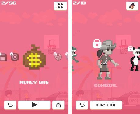 Gra zawiera wiele przedmiotów do odblokowania, także za prawdziwe pieniądze.