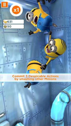 Despicable Me - Minionki gry na Androida