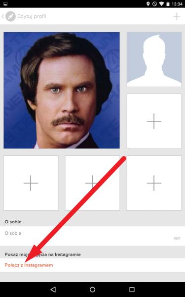 Jak połączyć Tinder z Instagram