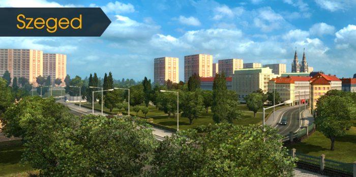Miasto Szeged w ETS 2