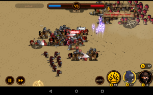 Bitwa w Mini Warriors na Androida