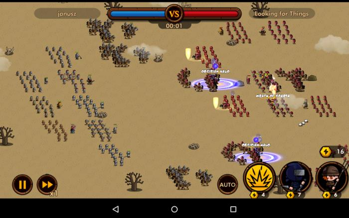 Bitwa w Mini Warriors