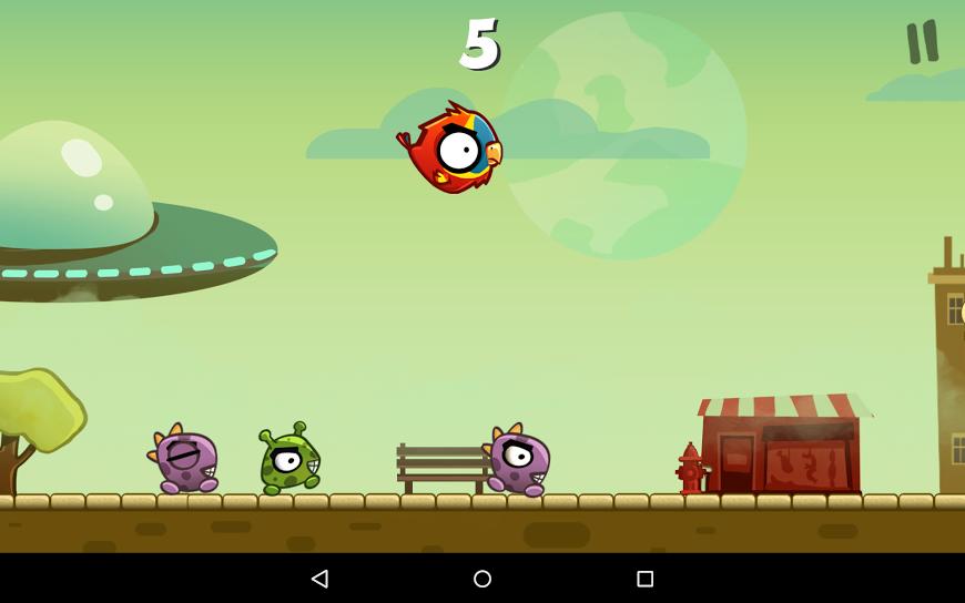 Messy Bird na Android