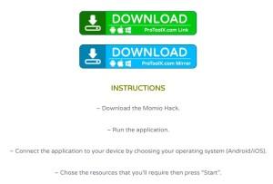 Momio hacks