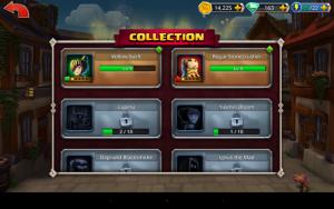 kolekcja bohaterów w Dungeon Boss
