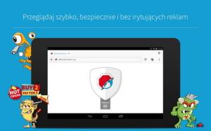 Adblock Browser na Androida