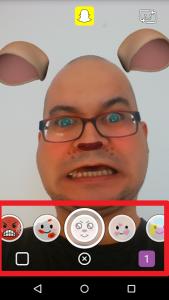 Snapchat aktualizacja