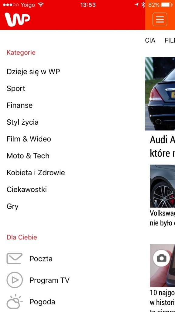 aplikacja WP24 na iOS i Android