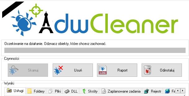 Adw Cleaner - aplikacja do usuwania niechcianych programów