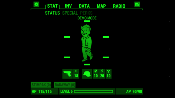 Fallout Pip-Boy na smartfona