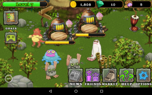 Potwory w My Singing Monsters