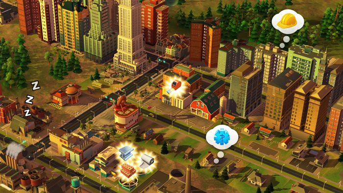 SimCity BuildIt na Androida i iOS-a